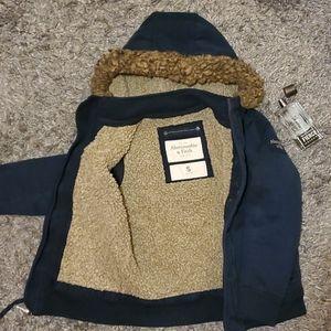 A&F Sherpa Lined Jacket